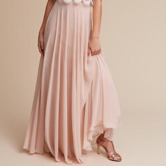 89b2bc97d7 Jenny Yoo Dresses & Skirts - Jenny Yoo Blush maxi skirt